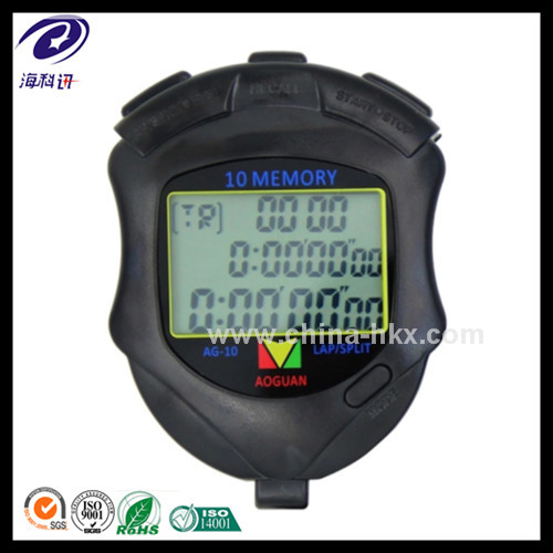 Stopwatch manufacture