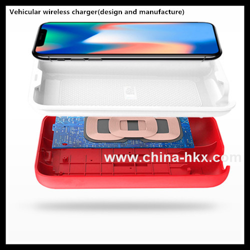 Vehicular wireless charger design and manufacture