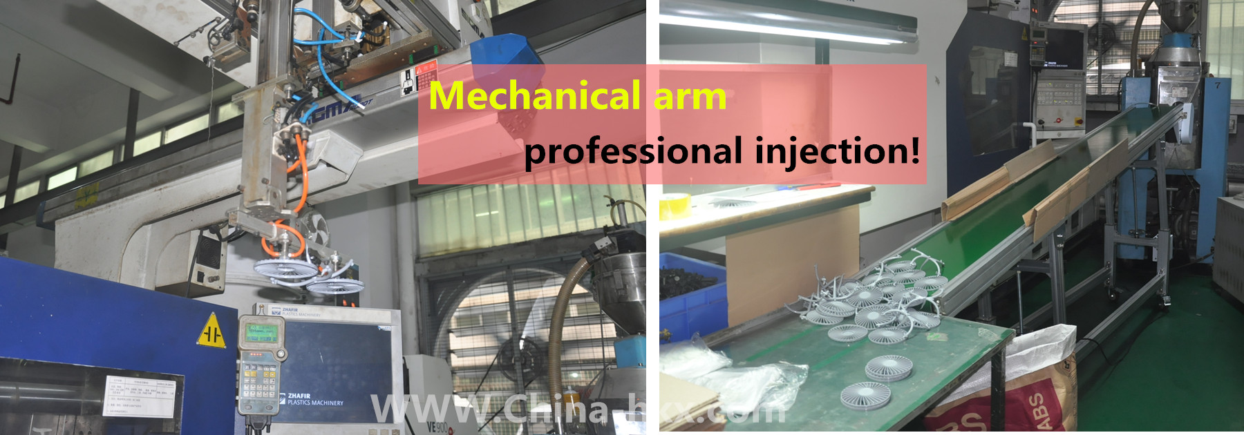Mechanical arm professional injection